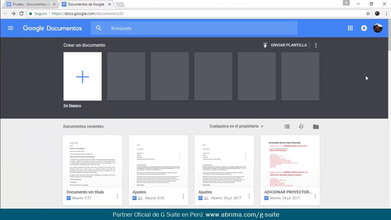 Cómo añadir una plantilla en Documentos de Google - YouTube