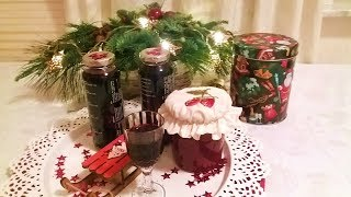 Ликер готов к Рождеству!