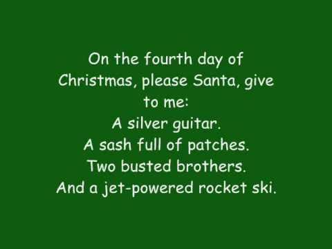 12 Days Of Christmas Lyrics.Phineas And Ferb 12 Days Of Christmas Lyrics Hq