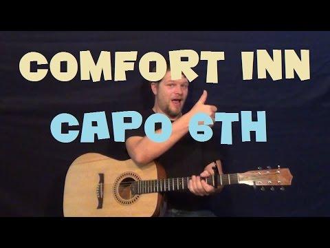 Comfort Inn (Jhene Aiko) Easy Strum Fingerstyle Guitar Lesson How to Play Tutorial