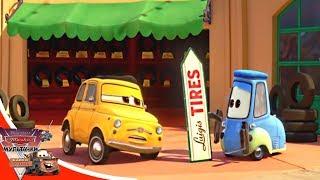 Мультачки - SPINNING | Трюкач - Байки из Радиатор Спрингс - эпизод 3 | мультики Disney | мультфильм