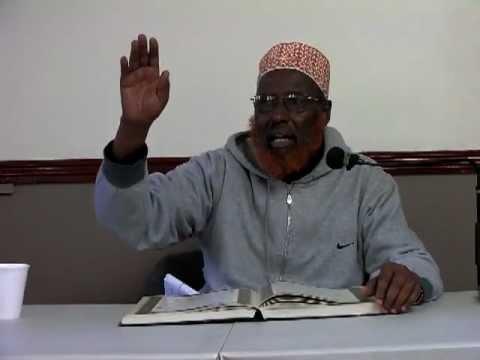 Tafsir Somali Surat an-Nahl - part 5 - Sheikh Hussein Jama