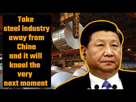 China produces more than half of world's steel and it cannot go on forever