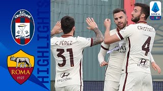 Crotone 1 3 Roma Mayoral scores brace as Roma cruise to claim 3 points Serie A TIM