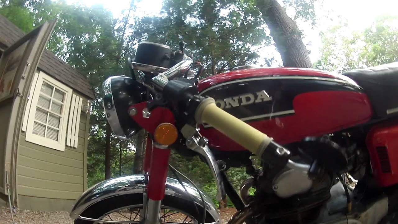 1972 honda cb175 cafe racer youtube sciox Images