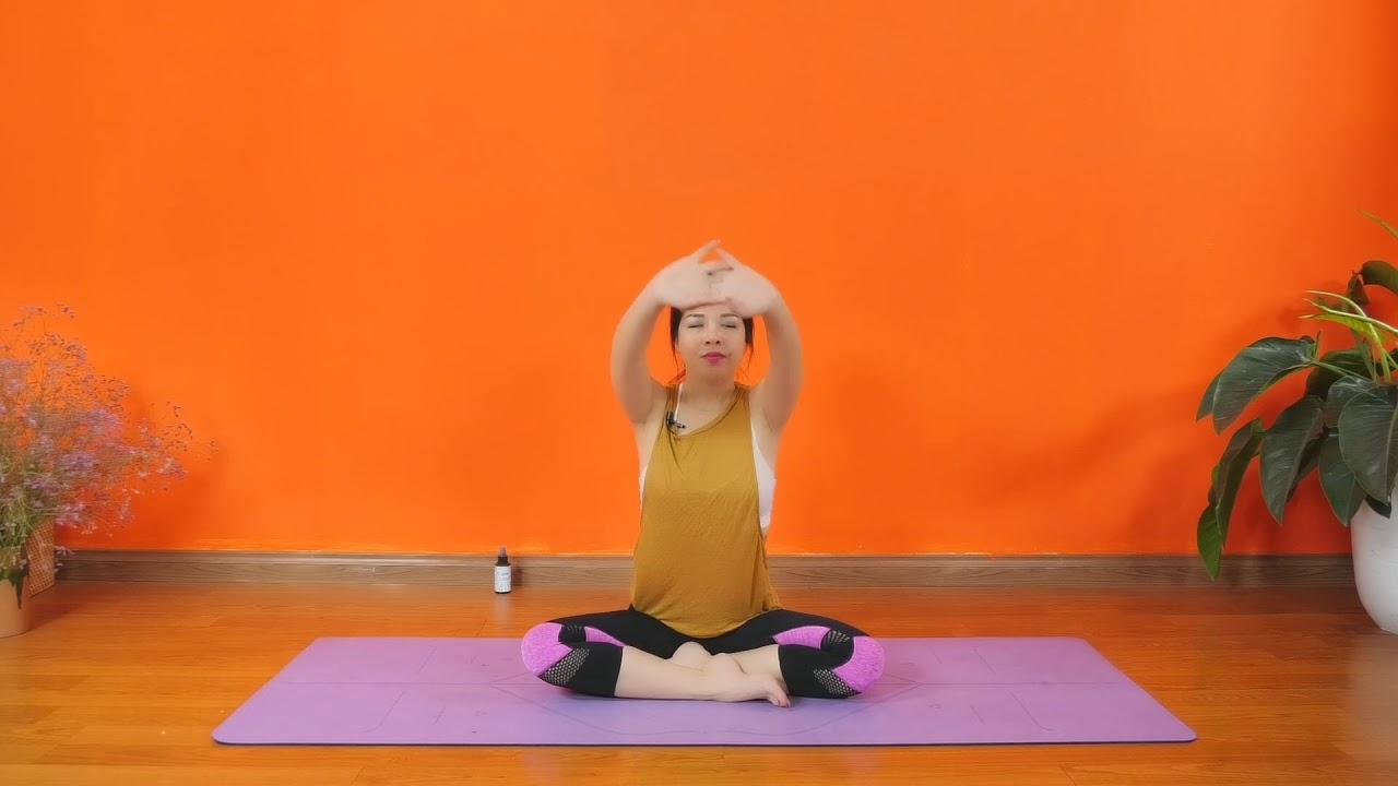 Yoga tại nhà _ Bài tập Yoga giãn mềm toàn thân _ Nguyễn Hiếu Yoga