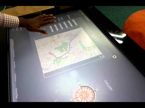 Multitouch Interactive Content Delivery & RFID Solution( Property Launching )