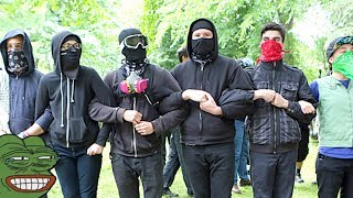ANTIFA UNMAKSED/EXPOSED - PORTLAND OREGON