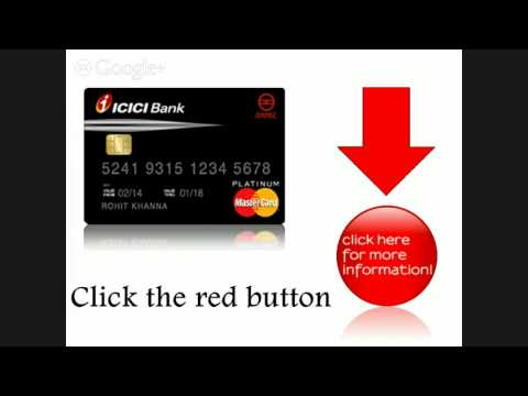 Icici Credit Card Bill Payment