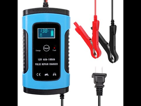Хорошо работающее и самое дешёвое зарядное устройство с АлиЭкспресс (авто-мото техника). - Видео онлайн