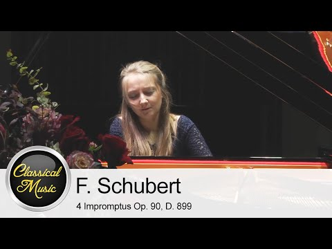Franz Schubert - 4 Impromptus Op. 90, D. 899 | Aleksandra Świgut
