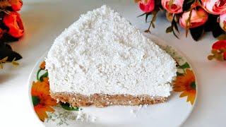 Творожный чизкейк без выпекания/Пирог из печенья/Вот что нужно готовить в жару