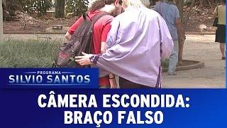 Câmera Escondida (18/09/16) -  Braço Falso