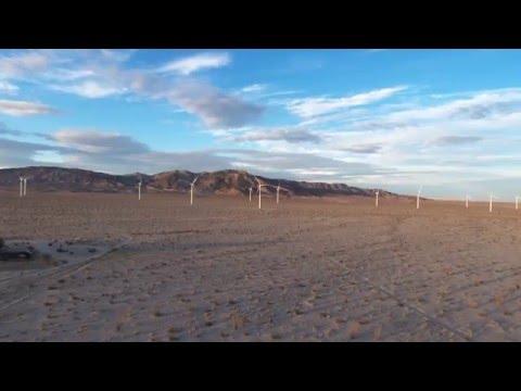 Sundown at Ocotillo Wind