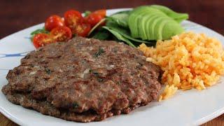 Receta de milanesas de carne molida de res ¡Receta fácil, rápida y deliciosa! 😱🥩😋