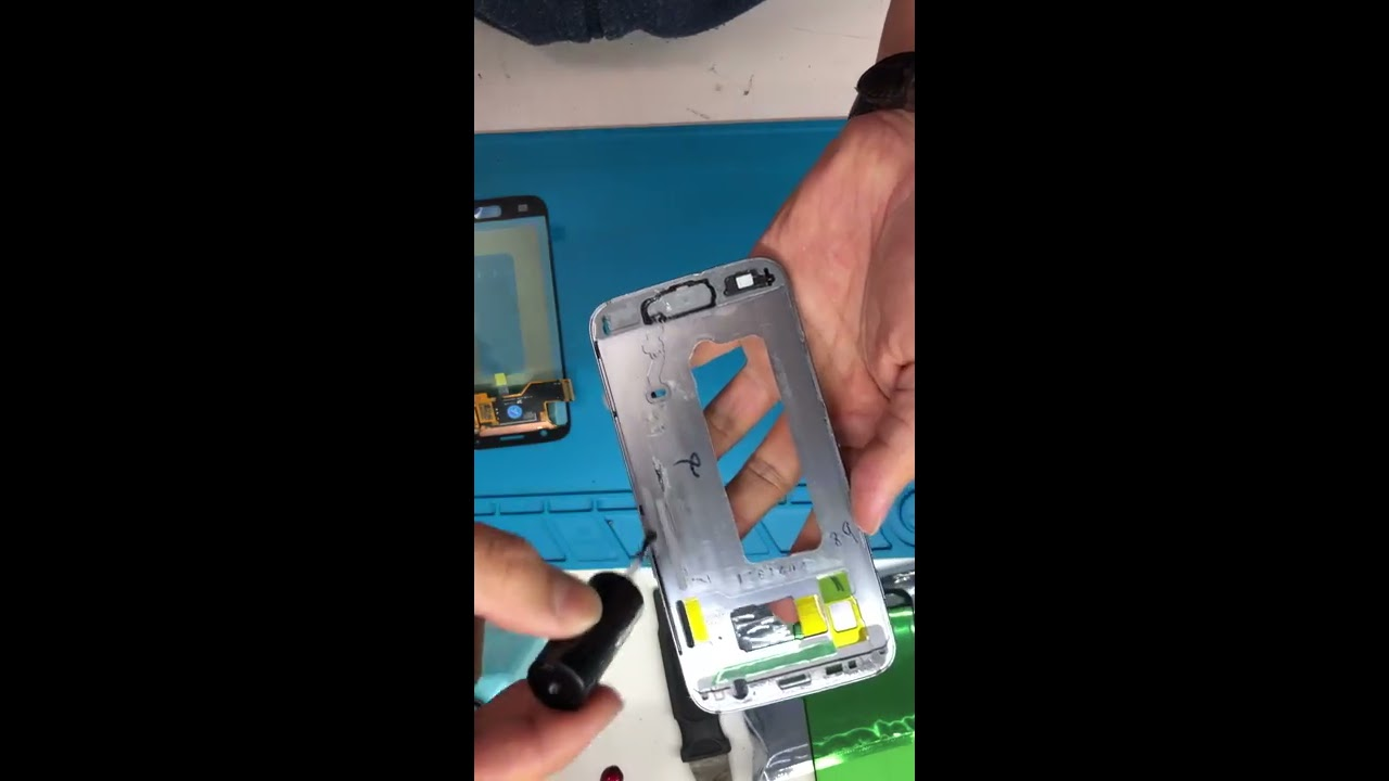 How to install samsung s7 frame correctly