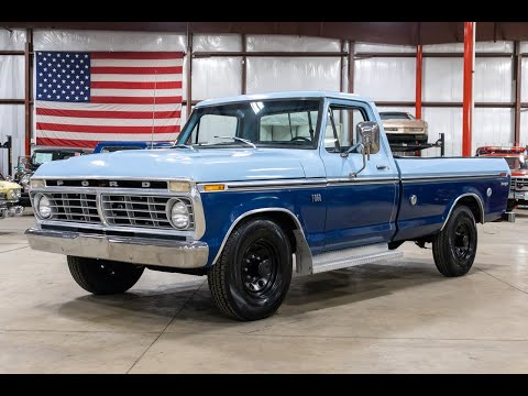 1975 Ford F250 Ranger For Sale - Walk Around Video (68K Miles)