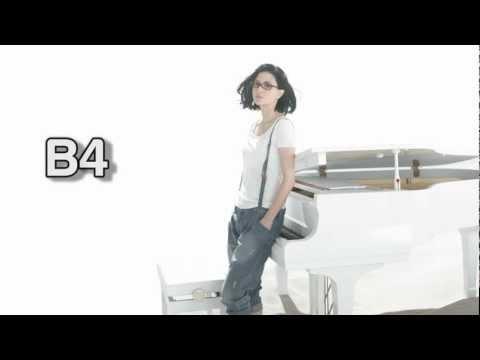 (HD) Angela Aki Vocal Range - Studio: Eb3-F5 (2000-2012)