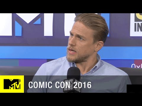 Charlie Hunnam Talks Sons of Anarchy Prequel  Comic Con 2016  MTV