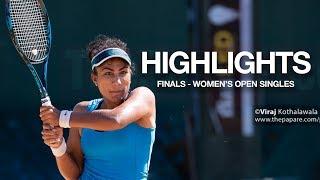 Highlights - Women's Singles Finals | SSC Open Tennis Tournament 2019