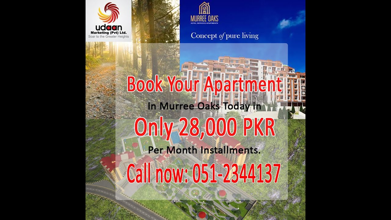 Affordable Luxurious Apartments Murree Oaks
