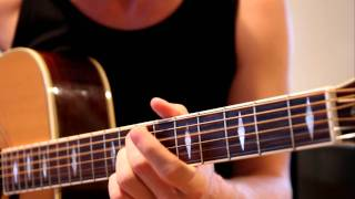 Alter Bridge - In Loving Memory (acoustic intro/outro guitar cover)
