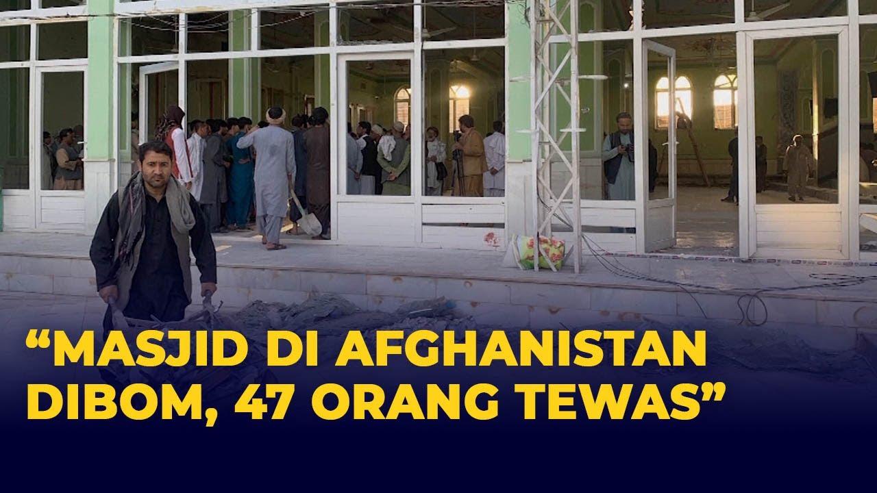 Download 47 Orang Tewas, Imbas Bom Bunuh Diri di Masjid Afghanistan