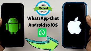 Transfer whatsapp from android to iPhone   How to backup & restore whatsapp chats to a new iPhone