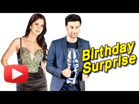 Katrina Kaif's Birthday Surprise For Ranbir Kapoor - MUST WATCH
