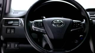 Обновленная Toyota Camry 2015. Обзор экстерьера и интерьера. Camry new europe.
