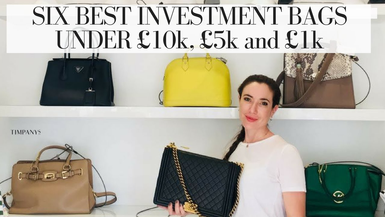 5725040fb3 THE 6 BEST INVESTMENT HANDBAGS  3 different budgets - YouTube