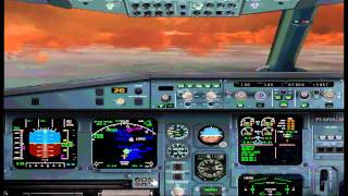 FS2004 Flight from Paris to Zurich