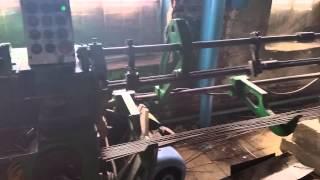 ИВ 6119 Видео работы правильно-отрезного станка ООО