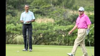 Malaysian PM under fire for playing golf with Barack Obama