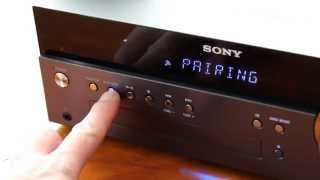 Sony CMT-SBT300 Bluetooth Setup