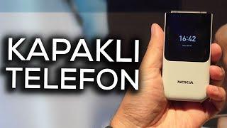 Kapaklı telefon döndü | Nokia 2720 Flip ön inceleme
