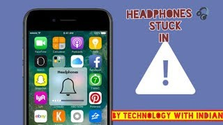 How to fix stuck headphones problem in any android phone in hindi