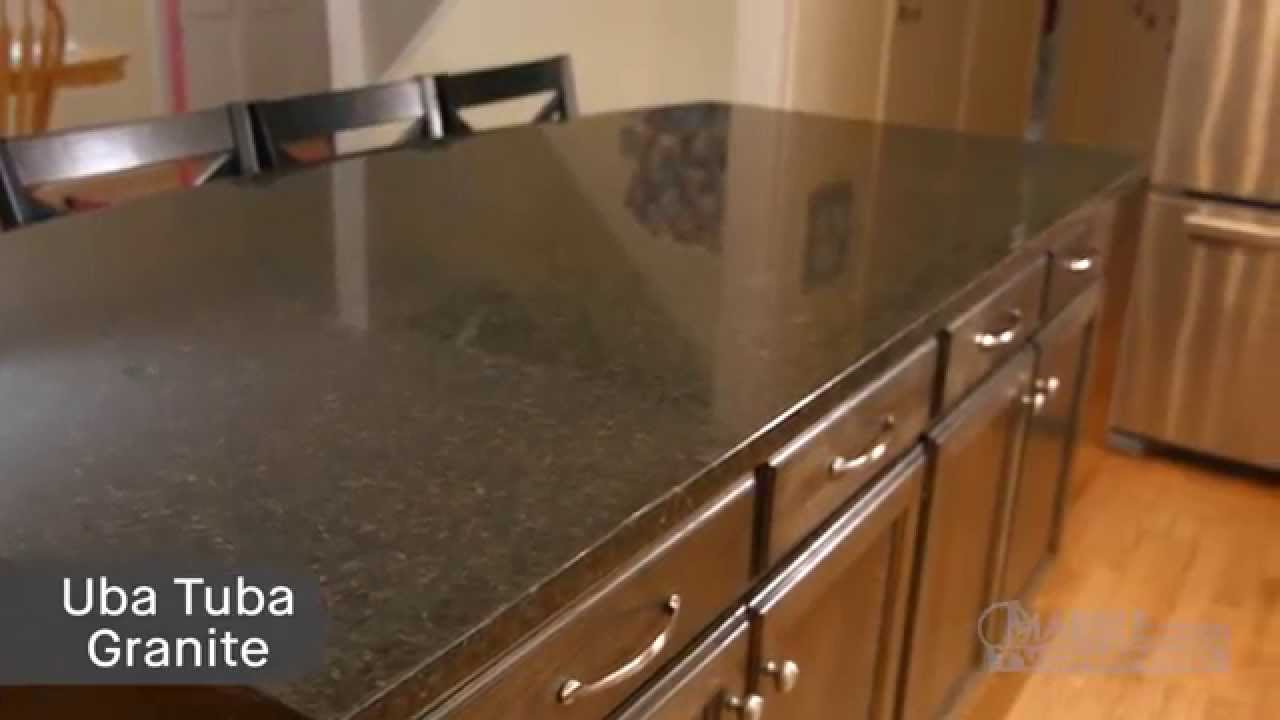- Ubatuba Granite Kitchen Countertops II Marble.com - YouTube