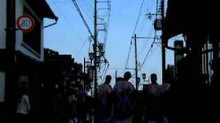 2008 春日神社(篠山市) 秋の例祭 山鉾巡行 宵宮 丸尾医院前 【読者投稿...