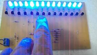 secuenciador 14 salidas 16 efectos a leds
