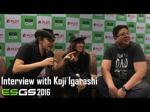 ESGS 2016 - Koji Igarashi Interview | Too Much Gaming