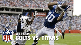 Andrew Luck Lobs It to Donte Moncrief for an 11-Yard TD   Colts vs. Titans   NFL