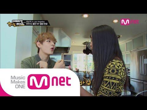 Mnet [방탄소년단의 아메리칸 허슬라이프] Ep.05 : 뷔 선생님의 한국어 교실?! 지민이 바보된 사연은?
