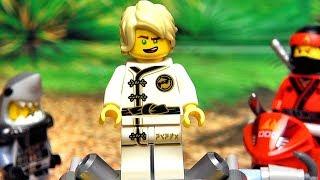 ЛЕГО Ниндзяго Фильм Ллойд и Кай против Акулы из The LEGO Ninjago Movie 2017 мультика видео для детей