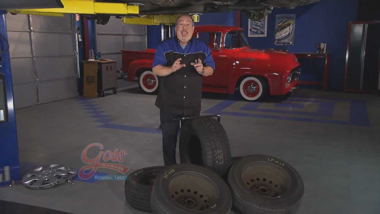 How To Rotate Tires Youtube