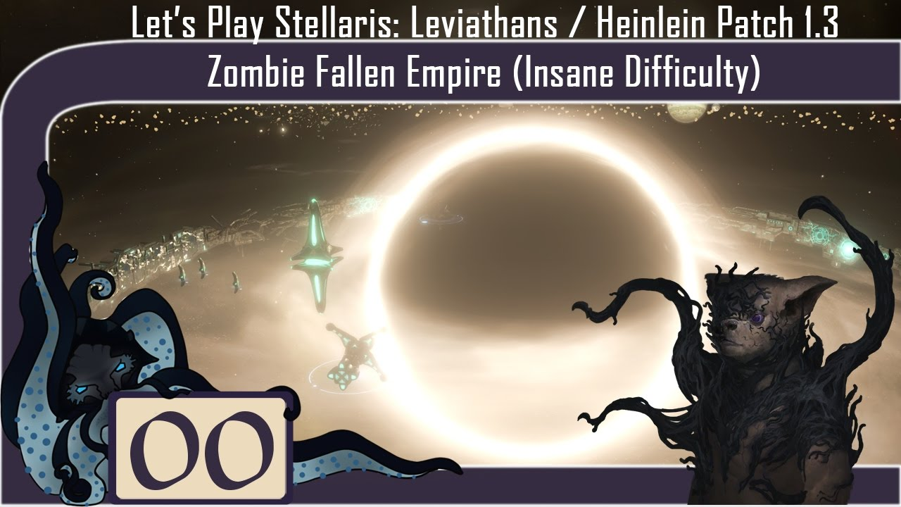 Stettings Let's Play Stellaris: Leviathans DLC #00 Zombie Fallen Empire Insane Difficulty