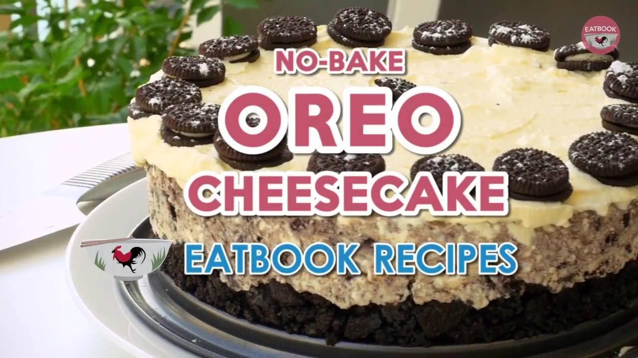 Easy NoBake Oreo Cheesecake Recipe 6 Ingredients And No Mixer