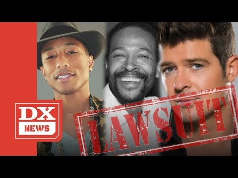 """Pharrell & Robin Thicke Officially LOSE Marvin Gaye """"Blurred Lines"""" Lawsuit"""