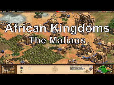 Aoe2 HD African Kingdoms: Malians, New Civilization