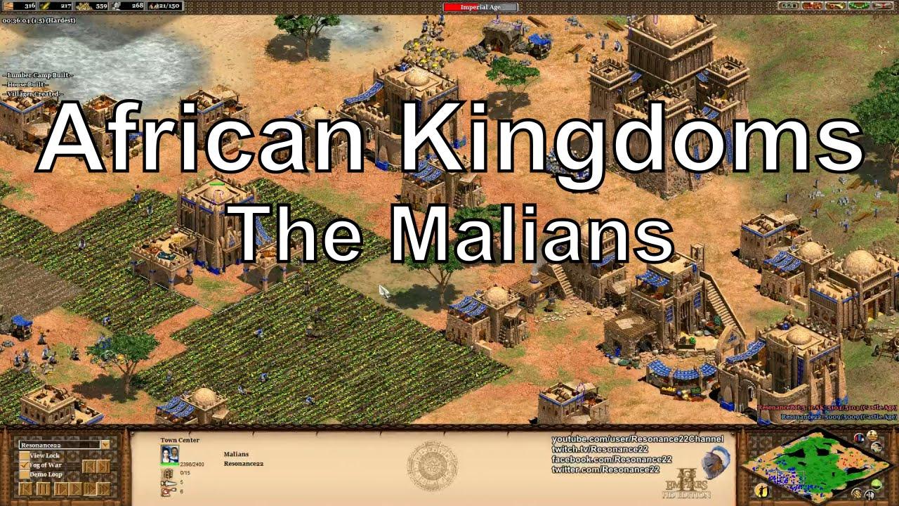 age of empires 2 hd african kingdoms walkthrough